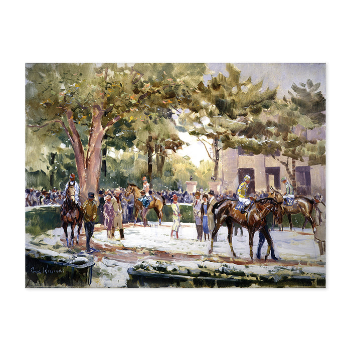 Peter Williams Keeneland Snow Print