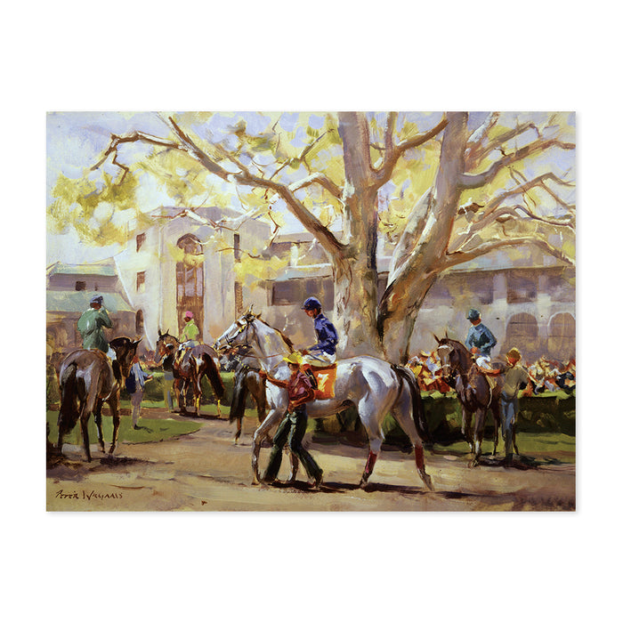 Peter Williams Springtime At Keeneland Print