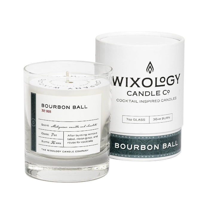 Wixology Bourbon Ball Candle