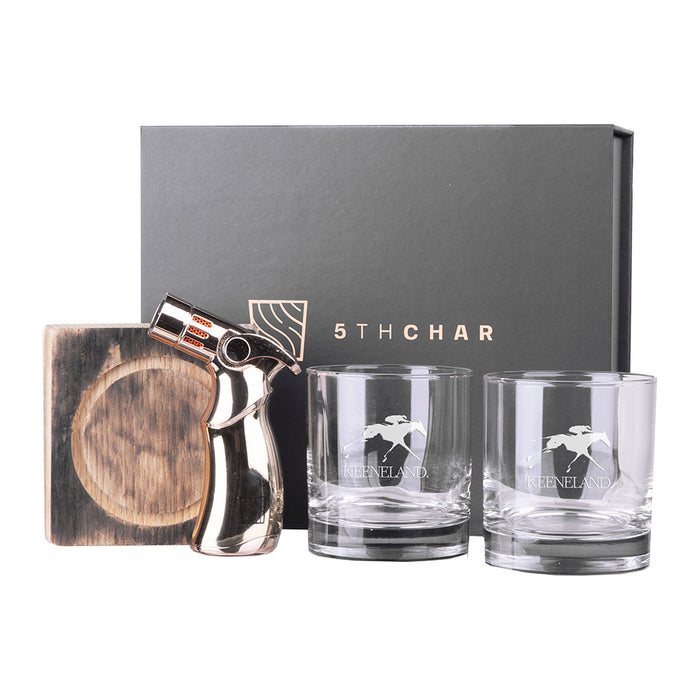 5th Char Whiskey Barrel Wood Smoked Cocktail Kit