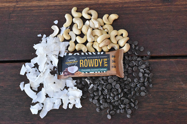 Rowdy Bars with prebiotics