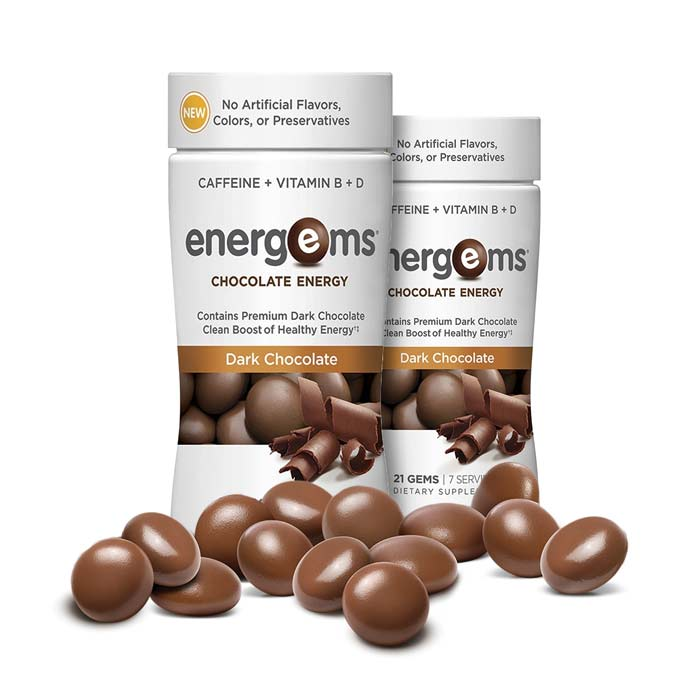 Energems Chocolate Energy - 2 pack | Bulu Box - sample superior vitamins and supplements