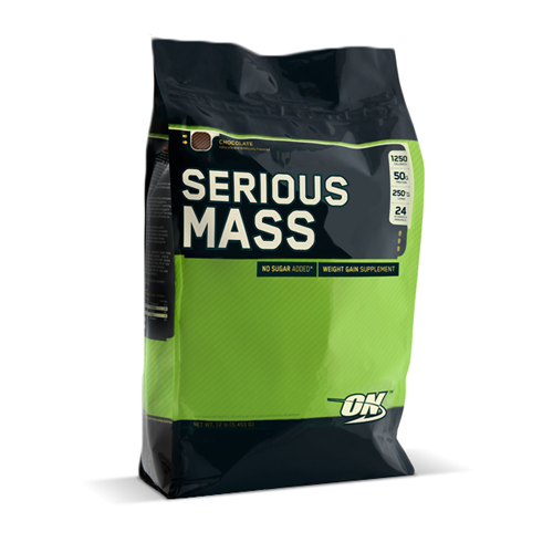 Serious Mass Chocolate 12lb | Bulu Box - Sample Superior Vitamins and Supplements