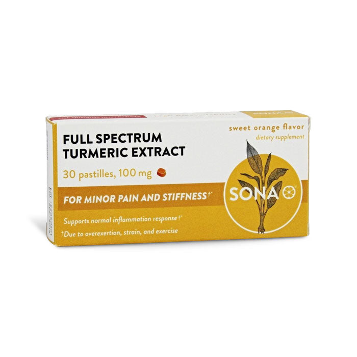 SONA Turmeric Pastille | Bulu Box - sample superior vitamins and supplements