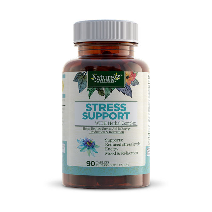 Nature's Wellness Stress Support | Bulu Box sample superior vitamins and supplements