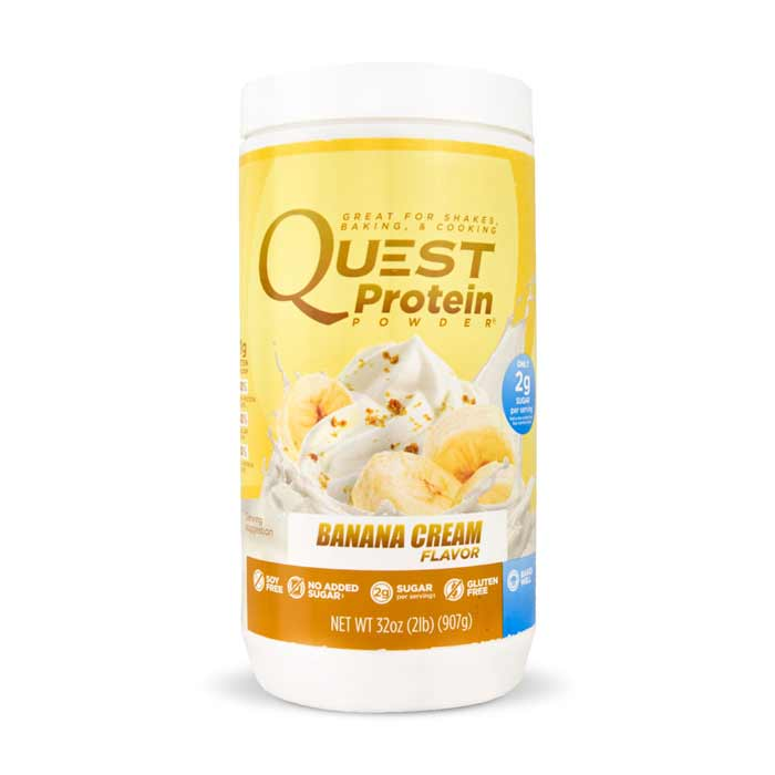 Quest Nutrition Protein Powder Banana Cream | Bulu Box - sample superior vitamins and supplements
