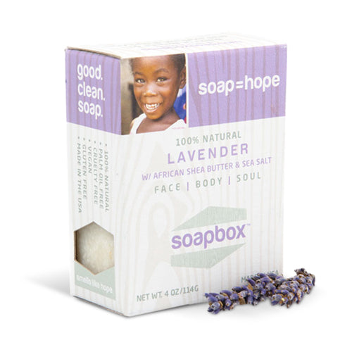 SoapBox Bar Soap Lavender | Bulu Box - sample superior vitamins and supplements