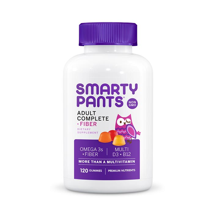Smarty Pants Adult Complete + Fiber Gummy Vitamins | Bulu Box - Sample Superior Vitamins and Supplements