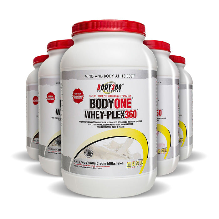 BodyOne Whey-Plex360 -Whey Protein Complex | Bulu Box - sample superior vitamins and supplements