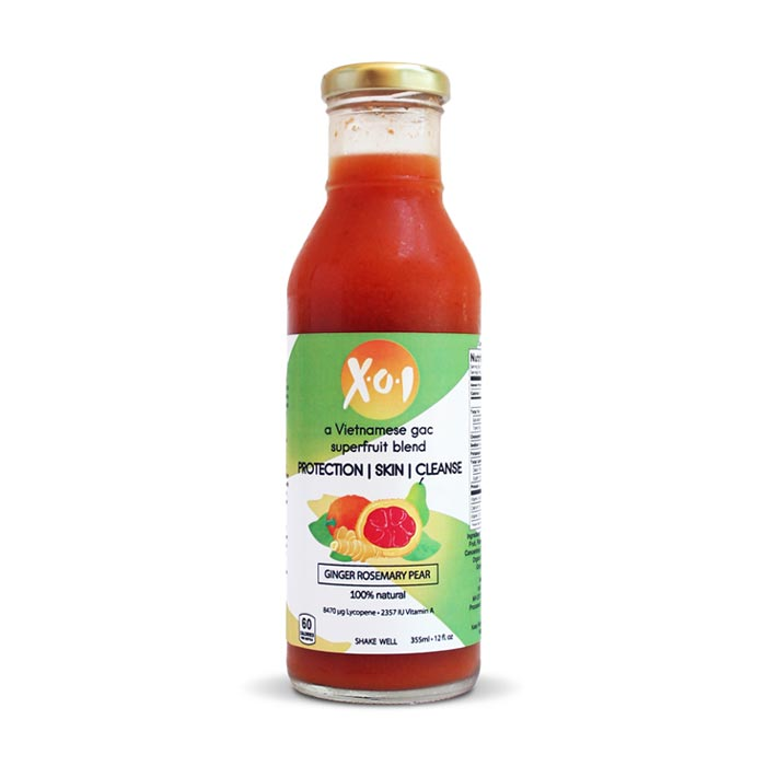 XOI Skin Care Drink - Ginger Rosemary Pear | Bulu Box Superior Supplements, Vitamins, and Healthy Snacks