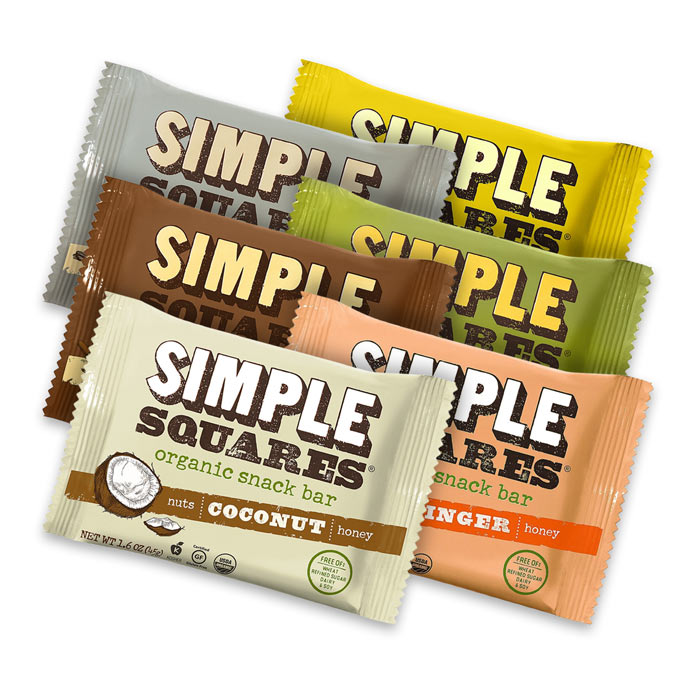 Simple Squares |  Bulu Box - sample superior vitamins and supplements