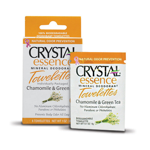 Crystal Essence Towelettes | Bulu Box - sample superior vitamins and supplements