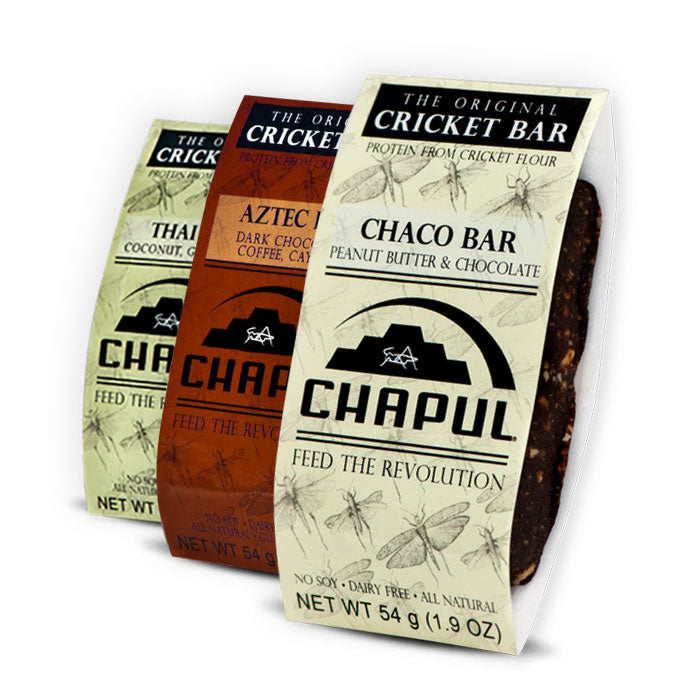 Chapul Cricket Bar | Bulu Box - sample superior vitamins and supplements
