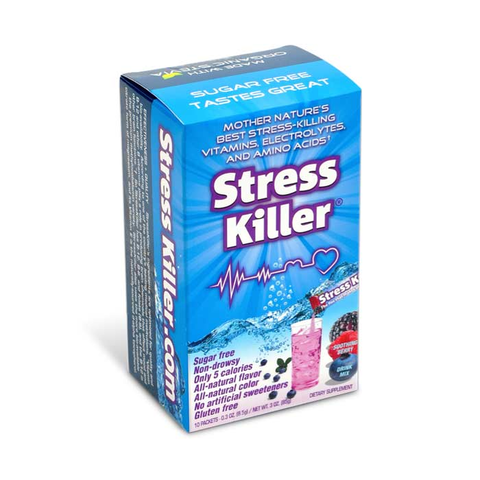 Stress Killer - Soothing Berry | Bulu Box Superior Supplements, Vitamins, and Healthy Snacks