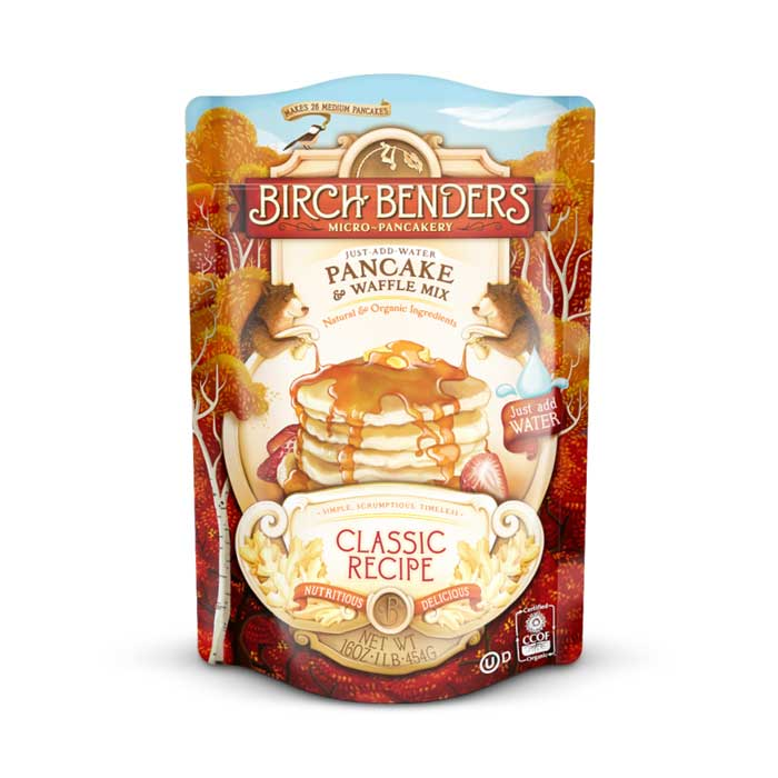 Birch Benders Pancake & Waffle Mix - Classic Recipe | Bulu Box - sample superior vitamins and supplements