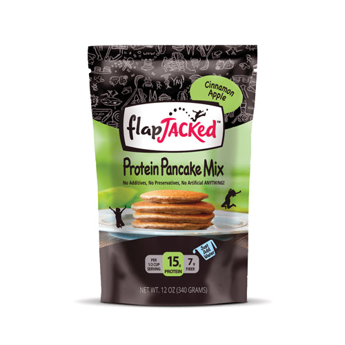 Flap Jacked Protein Pancake Mix Apple Cinnamon | Bulu Box - sample superior vitamins and supplements