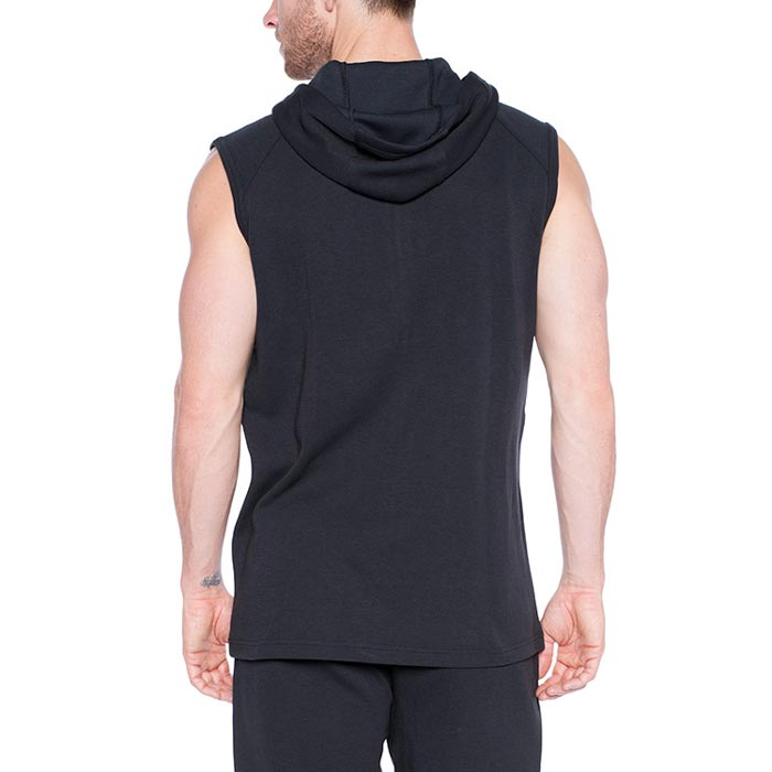 TLF Tech Sleeveless Hoodie Black | Bulu Box - sample superior vitamins and supplements