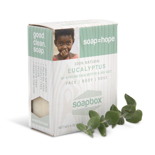 SoapBox Bar Soap Eucalyptus | Bulu Box - sample superior vitamins and supplements