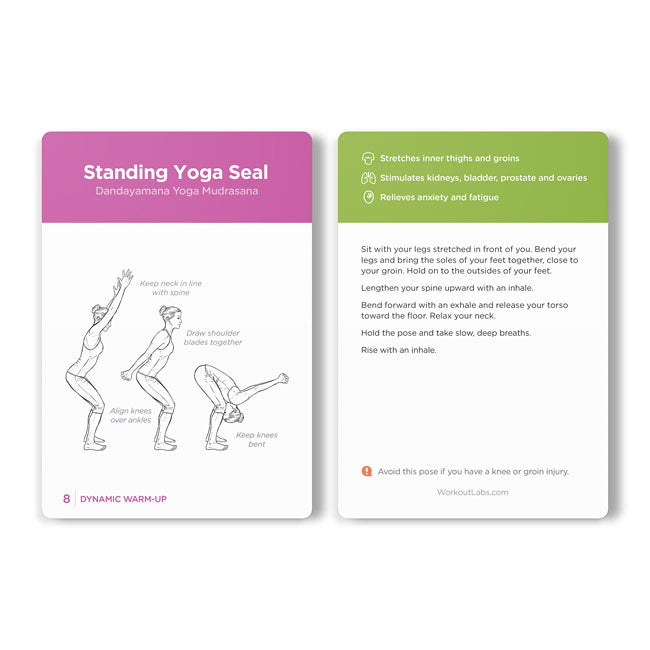 Workout Labs Yoga Cards | Bulu Box Sample Superior Vitamins and Supplements