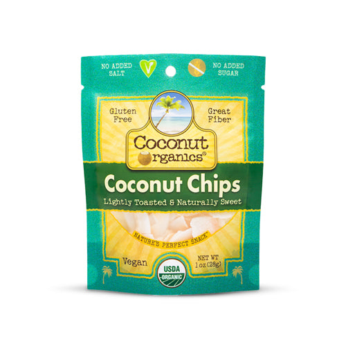 Coconut Organics Coconut Chips Original | Bulu Box - Sample Superior Vitamins and Supplements