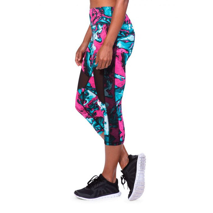 TLF Apparel Hysteria Capri - Marbelized Print | Bulu Box