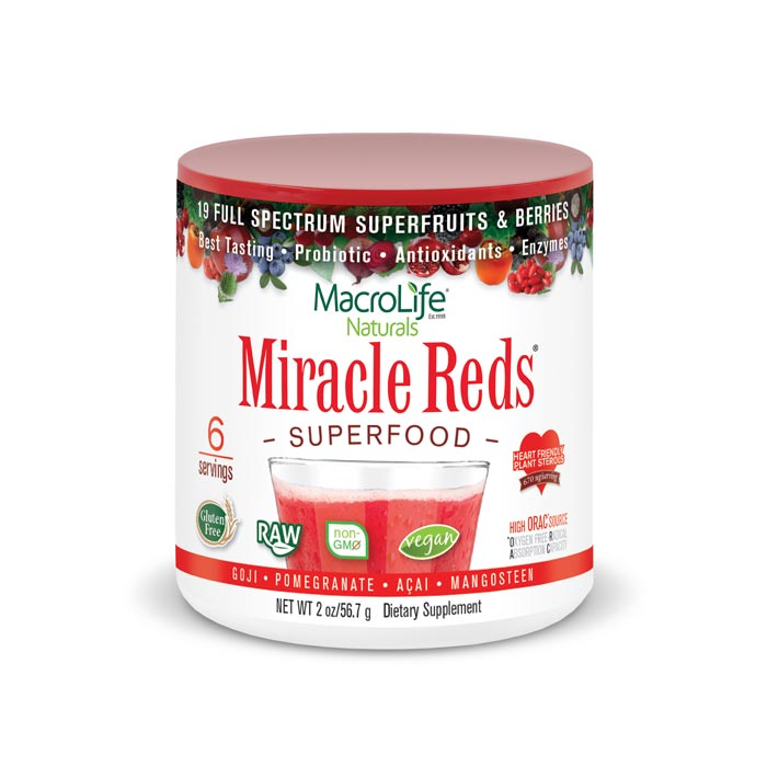 MacroLife Miracle Reds - 2oz | Bulu Box Superior Supplements, Vitamins, and Healthy Snacks