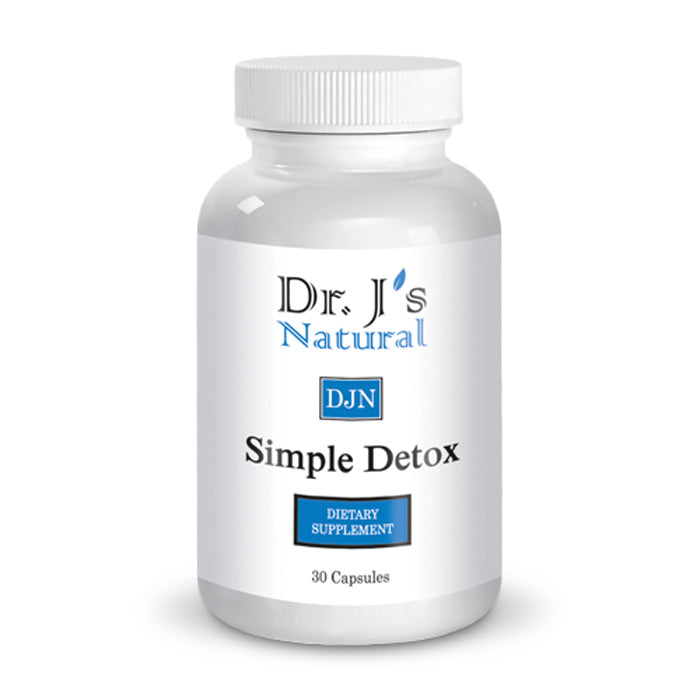 Dr J's Natural Simple Detox | Bulu Box - sample superior vitamins and supplements
