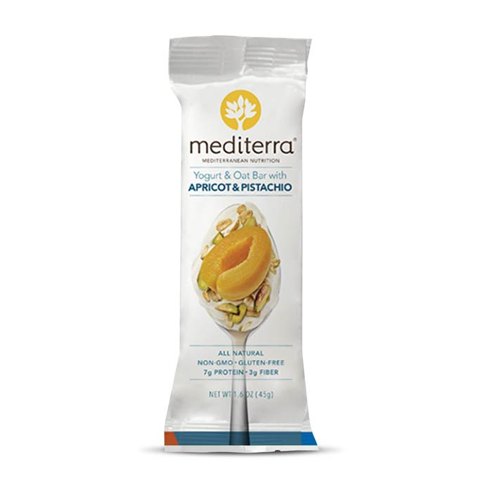 Mediterra Nutritional Bars Yogurt Apricot Pistachio | Bulu Box - sample superior vitamins and supplements