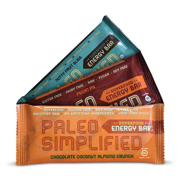 Paleo Simplified Superfood Energy Bars | Bulu Box - sample superior vitamins and supplements