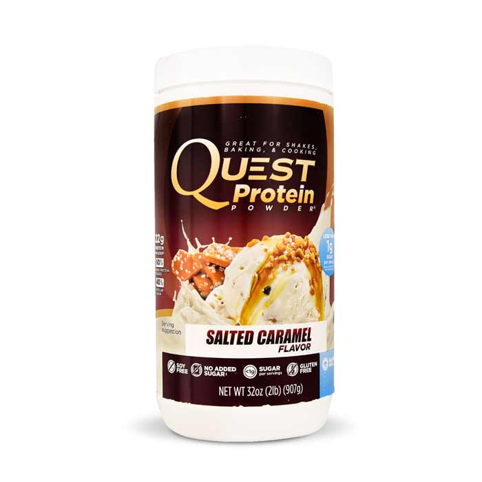 Quest Nutrition Protein Powder Salted Caramel | Bulu Box - sample superior vitamins and supplements