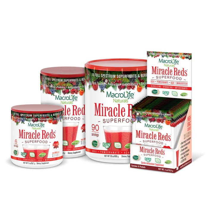 MacroLife Miracle Reds | Bulu Box Superior Supplements, Vitamins, and Healthy Snacks