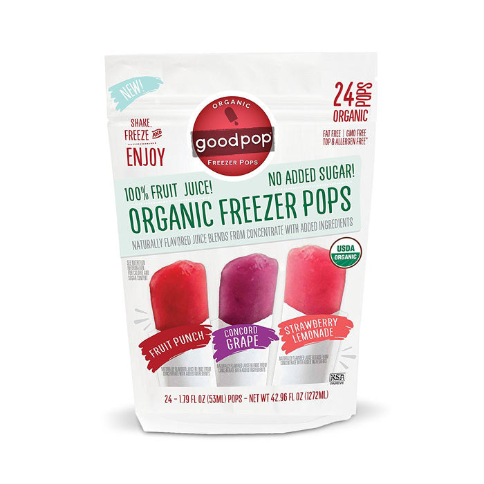 Goodpop Organic Freezer Pops | Bulu Box Superior Supplements, Vitamins, and Healthy Snacks