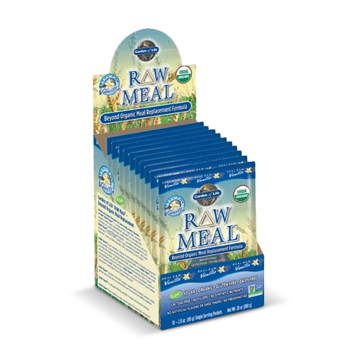 Garden of Life RAW Organic Meal Packets Vanilla | Bulu Box - sample superior vitamins and supplements