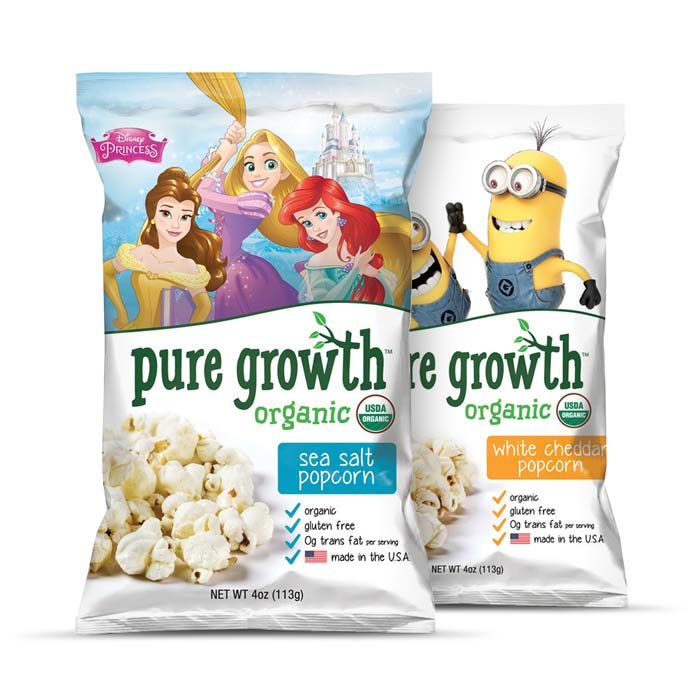 Pure Growth Organic Popcorn | Bulu Box - sample superior vitamins and supplements