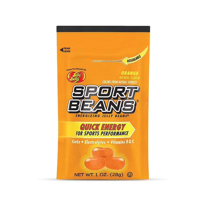 Jelly Belly Sport Beans Orange | Bulu Box - sample superior vitamins and supplements