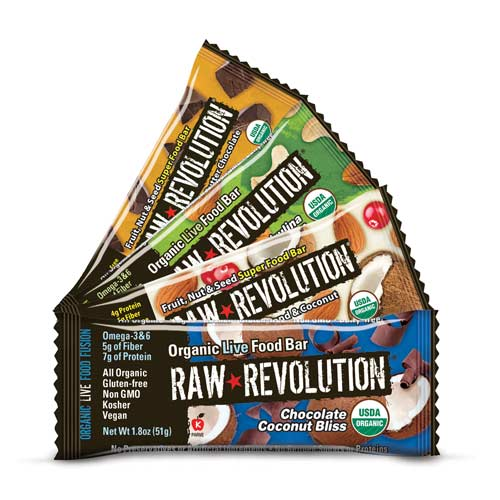 Raw Revolution Bars | Bulu Box - sample superior vitamins and supplements