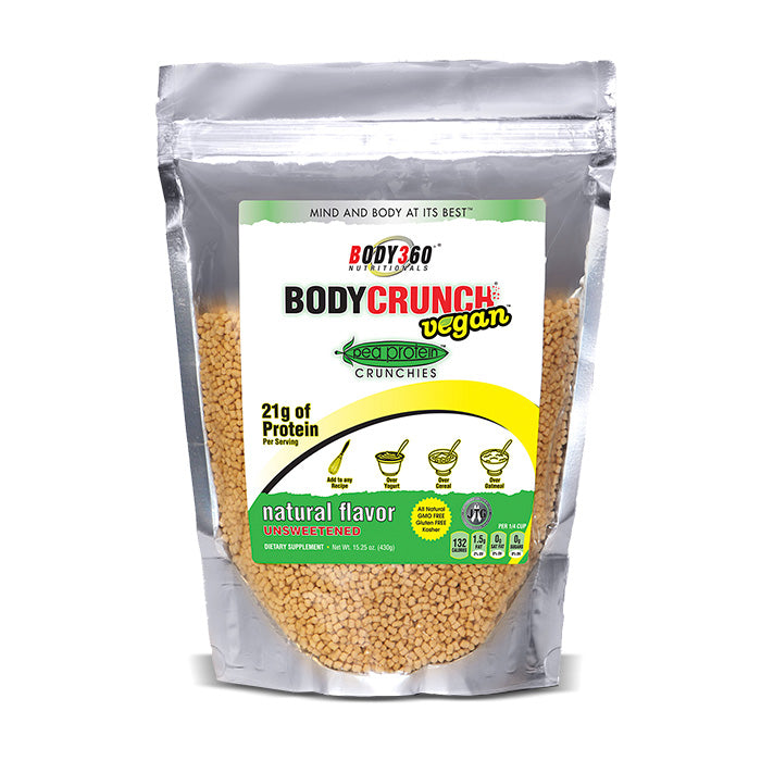 BodyCrunch Vegan - Pea Protein Crunchies | Bulu Box - Sample Superior Vitamins and Supplements