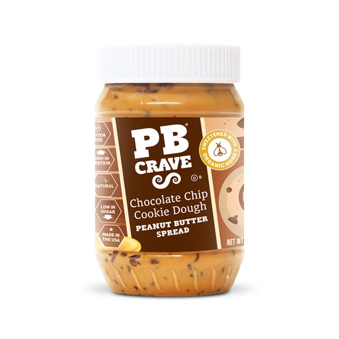 PB Crave - Chocolate Chip Cookie Dough | Bulu Box Superior Supplements, Vitamins, and Healthy Snacks
