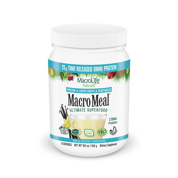 MacroLife MacroMeal Vegan - Vanilla | Bulu Box Superior Supplements, Vitamins, and Healthy Snacks