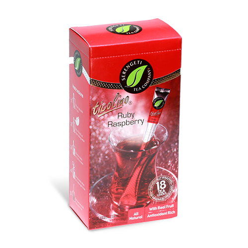 Serengeti Tea Ruby Raspberry Tea Blend | Bulu Box - sample superior vitamins and supplements