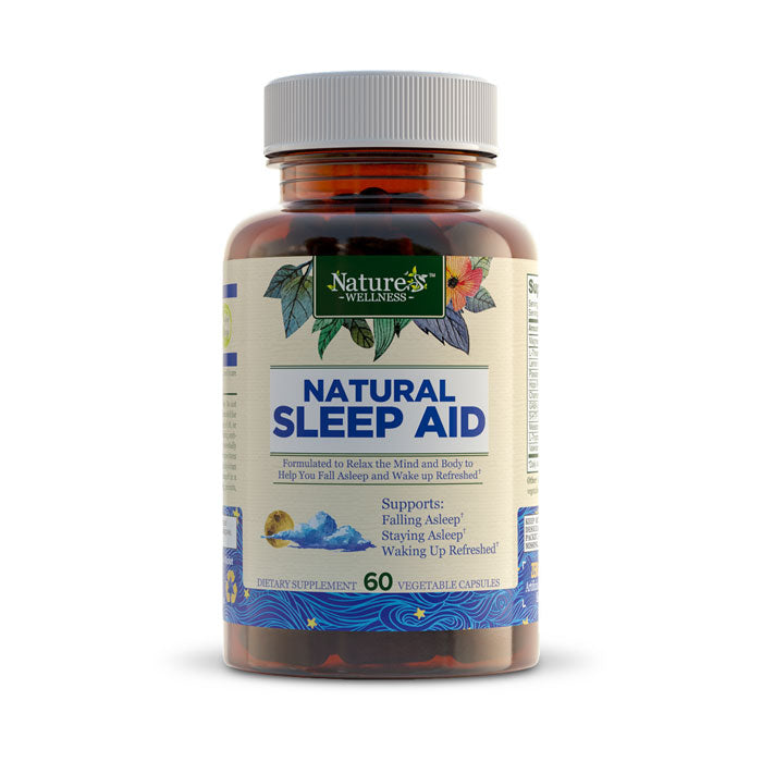 Nature's Wellness Natural Sleep Aid | Bulu Box sample superior vitamins supplements