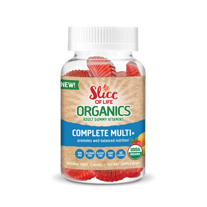 Slice of Life Organic Multi Vitamin | Bulu Box Superior Supplements, Vitamins, and Healthy Snacks