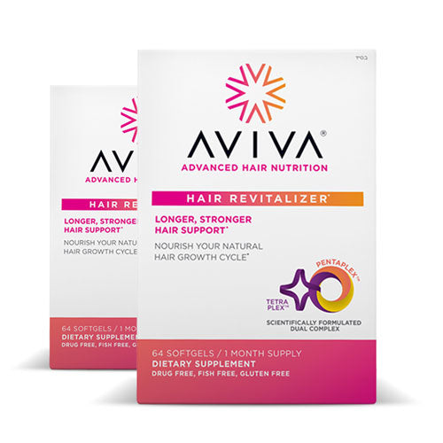 Aviva Advanced Hair Nutrition 60 days | Bulu Box - sample superior vitamins and supplements