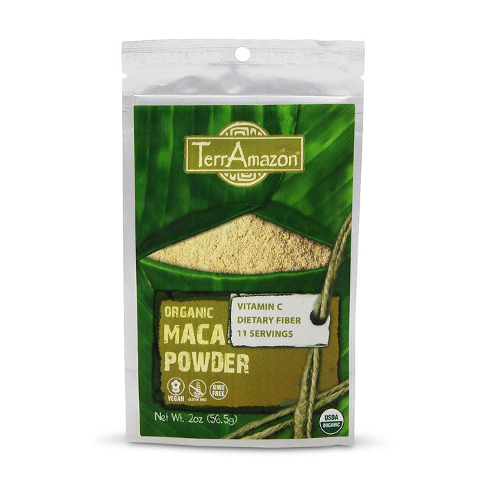 TerrAmazon Organic Maca Powder | Bulu Box - sample superior vitamins and supplements
