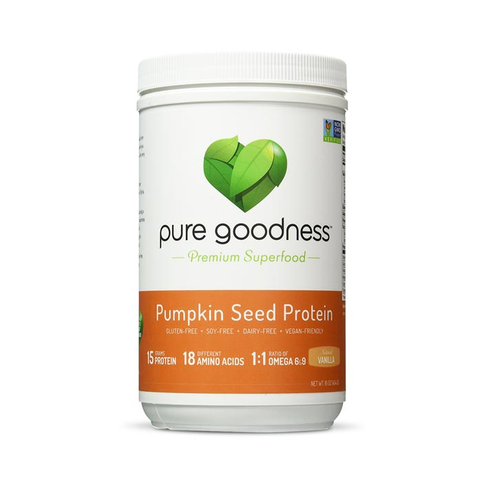 Pure Goodness Pumpkin Seed Protein - Natural Vanilla | Bulu Box Superior Supplements, Vitamins, and Healthy Snacks