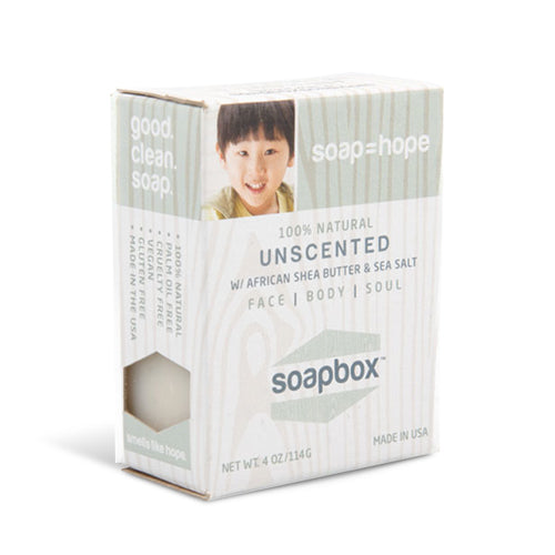 SoapBox Bar Soap Unscented | Bulu Box - sample superior vitamins and supplements
