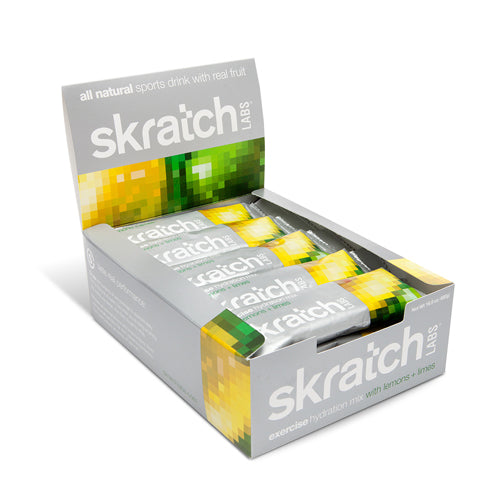 Skratch Labs Exercise Hydration Mix Lemon Lime | Bulu Box - sample superior vitamins and supplements