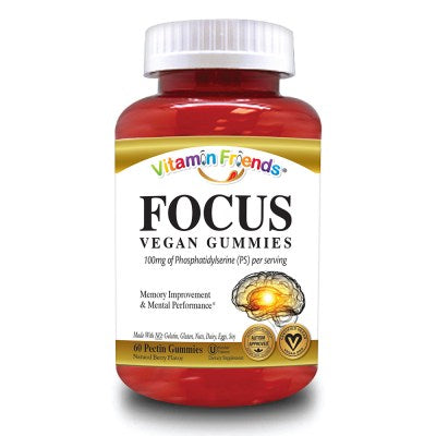 Vitamin Friends - Focus Gummies