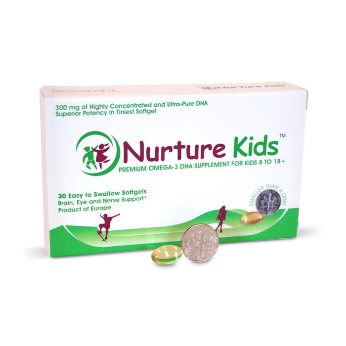 Nurture Kids Omega-3 DHA for Supplement for Kids 8 years plus