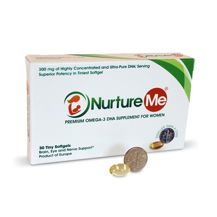 Nurture Me Maternal Health Omega-3 DHA Supplements for Women 18+